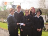 A big thank you to the students of Carrigallen Vocation School in Leitrim