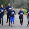 Dr Eva Orsmond leads group to participate in the 39th Paris Marathon for the ISPCA