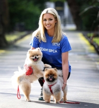 ISPCA Ambassador Rosanna Davison launches 'Do It for Me' campaign for the Vhi Women's Mini Marathon