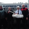 Blackwater Sub-Aqua Club help ISPCA rescue a trapped swan