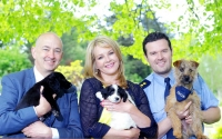 Broadcaster Claire Byrne turns poster girl in support of SpayAware appeal