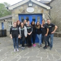 Google volunteers spend the afternoon helping out at the ISPCA National Animal Centre