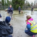 ISPCA volunteers participate in canine obedience training