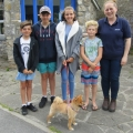 Molly and her friends Alfie, Oliver and Freddie organised a fun dog day in their local community