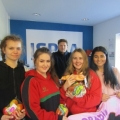 Students in Moyne College, Ballina, Co. Mayo who visited the ISPCA National Animal Centre recently