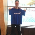 Hugh thanks to Shoreline Leisure Centre who held an indoor triathlon in Bray for the ISPCA